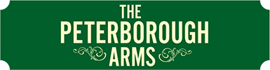 The Peterborough Arms sign